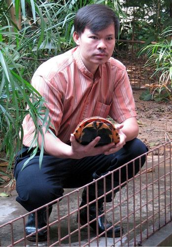惠州李艺_惠州惊现世界最大金钱龟养殖场