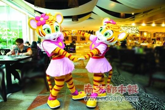 长隆酒店白虎自助餐厅:一场儿童嘉年华