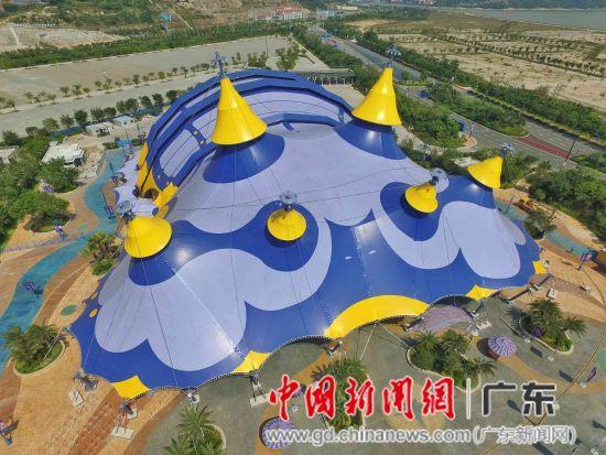 长隆横琴国际马戏新馆对外开放 360度无死角观看图片