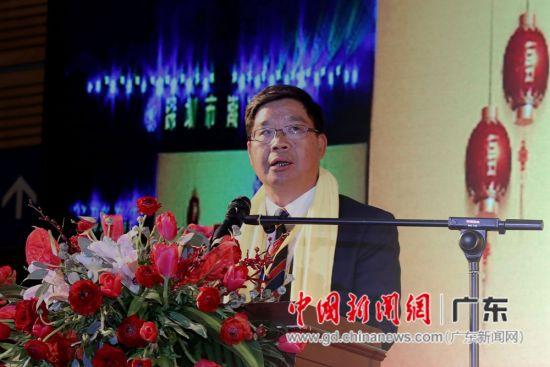 深圳市潮汕商会战略决策委员会主席黄榕城。