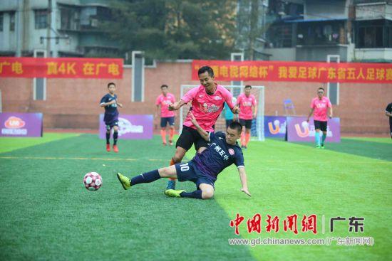 广州五中校队和广电网络明星队友谊赛 主办方供图
