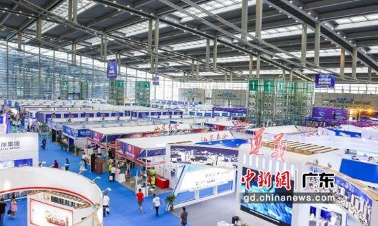 第四届华人华侨产业交易会现场。资料图片