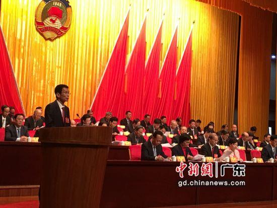 林惜文当选广东惠州市政协主席