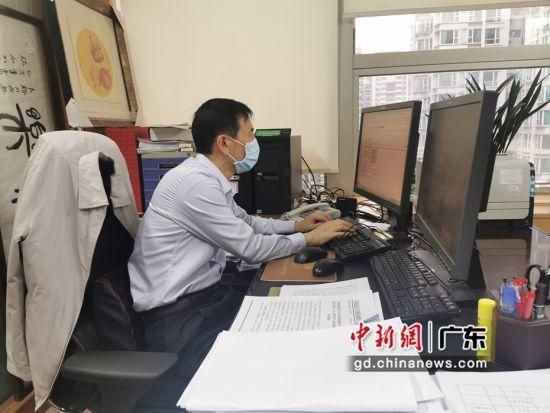 """通讯:广东税务在线解疑惑 战""""疫""""中当""""解题人"""""""