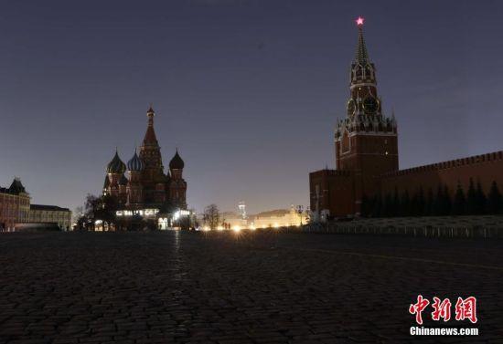 """全球战疫:感受莫斯科""""准封城""""状态"""