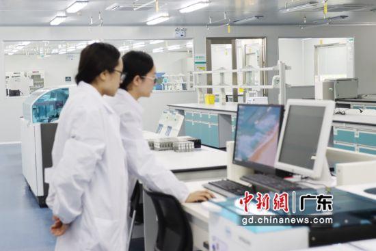 广州援助毕节建首个第三方医学实验室