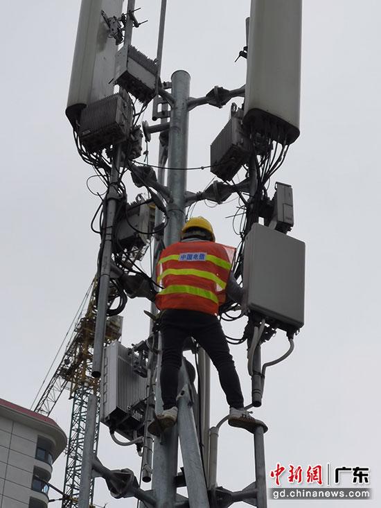 清远建成首个开通5G并实现信号连续覆盖的行政镇