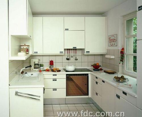 长方形厨房装修图案