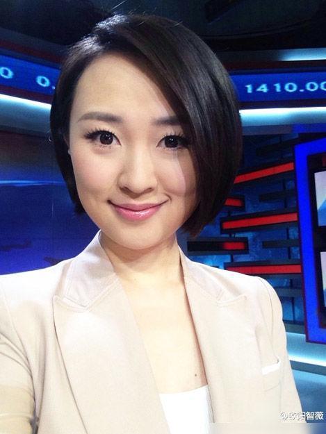 盘点央视财经频道的年轻美女主播们