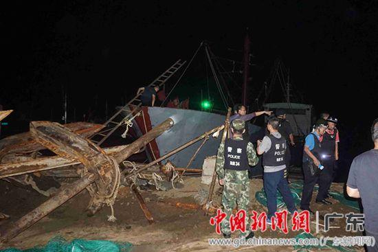 广东湛江警方打掉一个特大跨省盗采海砂犯罪团伙